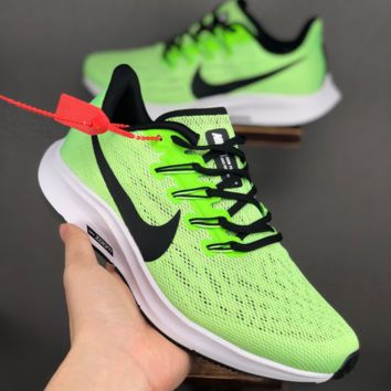 HCXX 19June 1072 Nike Air Zoom Pegasus 36 Mesh Breathable Lightweight soft soles running shoes