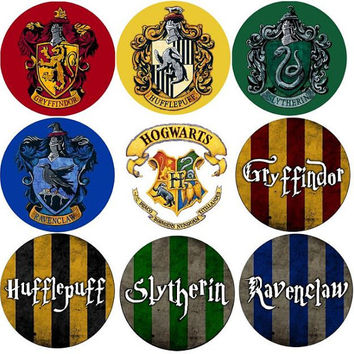 Harry Potter plugs - custom - 2g - 2 inch