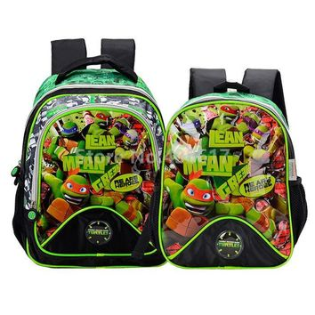 New Teenage Mutant Ninja Turtles Children School Bags for Boys Primary School Kindergarten Schoolbag Kids Backpack Bag