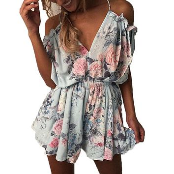 Fashion Rompers Women Jumpsuit Playsuit Clothes Chest Wrapped Strapless Short Overalls Jumpsuit Female Casual Summer Clothing