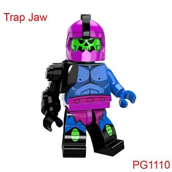 Single Sale Trap Jaw Mini Brick He Man Masters Building Bricks Super Heroes Star Wars Gift Toys For Children Pg1110