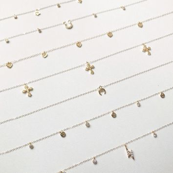 SCARLET X MEEMS | Gold Necklaces - 10 Style Options