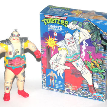 Vintage 1991 Krangs Android Body Toy, Teenage Mutant Ninja Turtles, Vintage Toys, Antique Alchemy