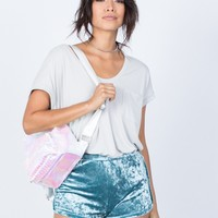 Velvet Crush Shorts