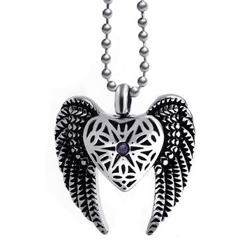 Angel Wings Cremation Urn
