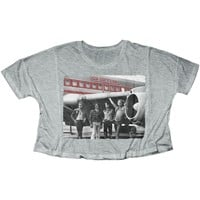 Led Zeppelin  Zep Plane Junior Top Heather
