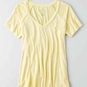 AEO Soft & Sexy Favorite T-Shirt , Yellow