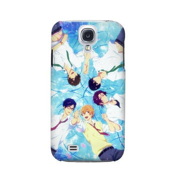 P2127 Free Iwatobi Swim Club Case For Samsung Galaxy S4