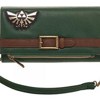 Nintendo Legend of Zelda Foldover Clutch