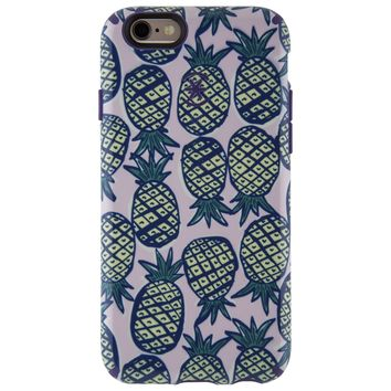 Speck Products Inked CandyShell Case for iPhone 6/6s - Retail Packaging - Pineapple Pac/Knight Purple