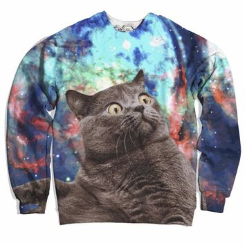Fat Cat In Space Sweater