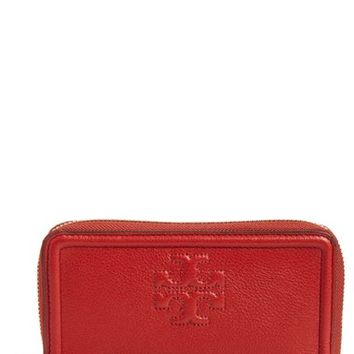 Tory Burch 'Thea' Leather Wristlet | Nordstrom