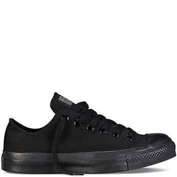 black men s converse chuck taylor all star low top 10 5 men 12 5 women black monochr