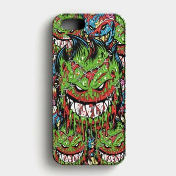 Spitfire Monster Skateboard Wheels iPhone SE Case