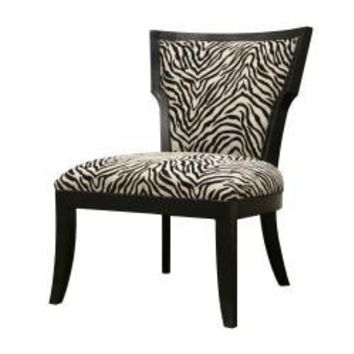 Courtney Modern Zebra Pattern Club Chair | Overstock.com