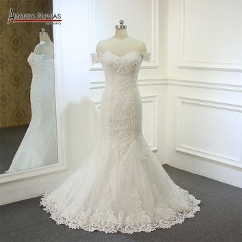 Simple But Elegant Mermaid Wedding Dress New