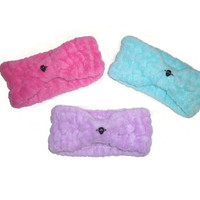 Pastel Skull Headband Soft Earwarmer Kawaii Sweet Lolita Winter Fashion Hair Accessory YOU CHOOSE ONE