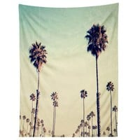 California Palm Trees Tapestry