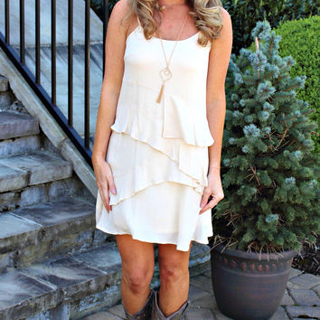 Humble and Kind Ruffle Dress