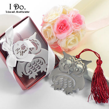 Free Shipping Owl Bookmark Wedding Favors And Gifts Wedding Supplies Wedding Souvenirs Wedding Gifts For Guests