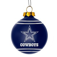 Forever Collectibles Dallas Cowboys Christmas Ball Ornament