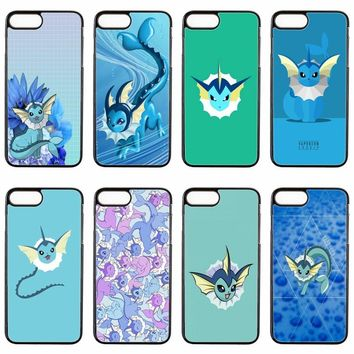cute kawaii anime  vaporeon cover case For Samsung Galaxy S3 S4 S5 S6 S7 edge S8 S9 Plus mini Note 3 4 5 8 phone caseKawaii Pokemon go  AT_89_9