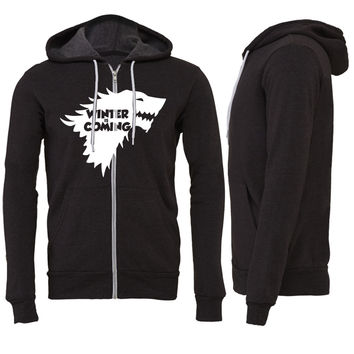 winter is coming1 Zipper Hoodie