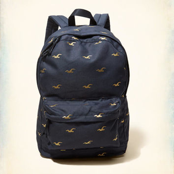 Girls Graphic Nylon Backpack | Girls Shoes & Accessories | HollisterCo.com