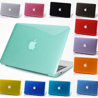 Luxury New Transparent Crystal laptop Case For Macbook air 11 12 13 15 inch Pro Retina Protector cover