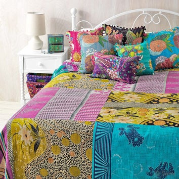Beautiful Kantha Bedcover