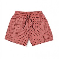 Boardies Disco Balls Red Black Mid Length Swimming Shorts - Swimming Trunks - Clothing | Shop for Men's clothing | The Idle Man