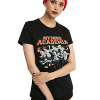 My Hero Academia Run Girls T-Shirt