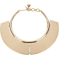 Lanvin Brass Plate Necklace - Bernardelli - Farfetch.com
