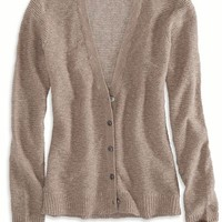AEO Women's Reverse Ribbed Cardigan