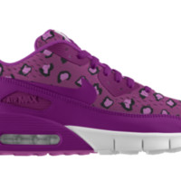 Nike Air Max 90 EM iD Girls' Shoe Size 6Y (Purple)