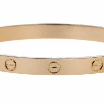 Cartier bangle Size 17 in 18K Yellow Gold Love collection