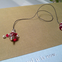Red Crystal Bookmark