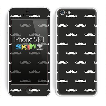 The Mustache Galore Skin for the Apple iPhone 5c