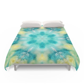Society6 Watercolor Tie Dye Duvet Covers