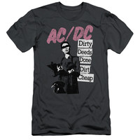 ACDC/DIRTY DEEDS-S/S ADULT 30/1-CHARCOAL