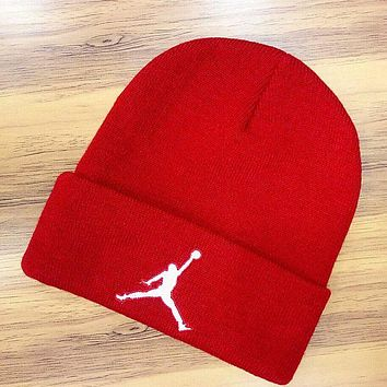 Jordan Hip-hop Women Men Beanies Winter Knit Hat Cap