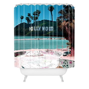 Wesley Bird Saltwood Shower Curtain