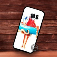 Finding Dory Movie Poster Gallery - Samsung Galaxy S7 S6 S5 Note 7 Cases & Covers
