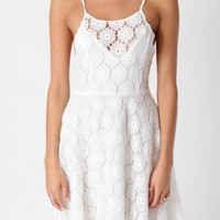 KATIE WHITE LACE DRESS