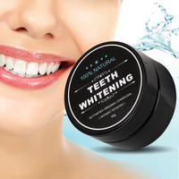 Trending Harseez Teeth Whitening Scaling Powder Oral Hygiene Cleaning Activated Bamboo Charcoal Powder Food Grade