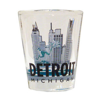 Spirit Of Detroit Shot Glass