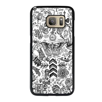 ONE DIRECTION TATTOOS Samsung Galaxy S7 Case