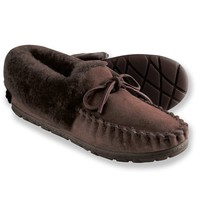 L.L.Bean Women's Wicked Good Moccasins Brown Medium