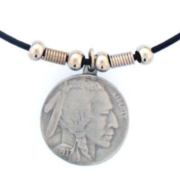 Earth Spirit Necklace - Indian Head Nickle
