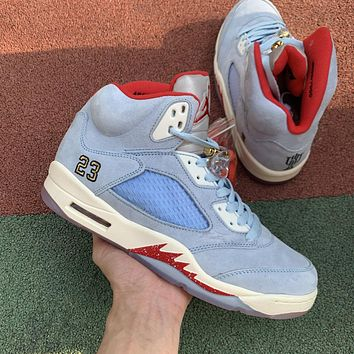 Air Jordan 5 Retro Trophy Room Ice Blue CI1899-400